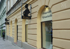 """sklep zodzieżą ciążową """"Mami"""" przy ul.Lubartowskiej 35"""